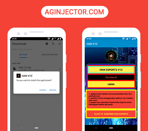 install han esports apk on android